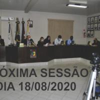 Próxima Sessão 18/08/2020